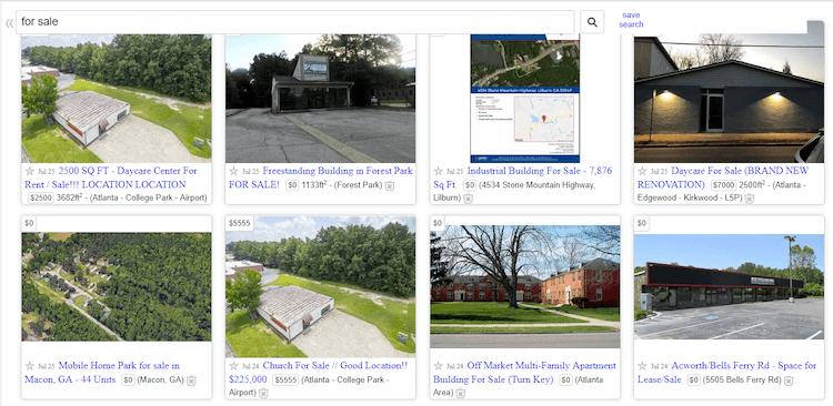 Craigslist Real estate for sale in Atlanta