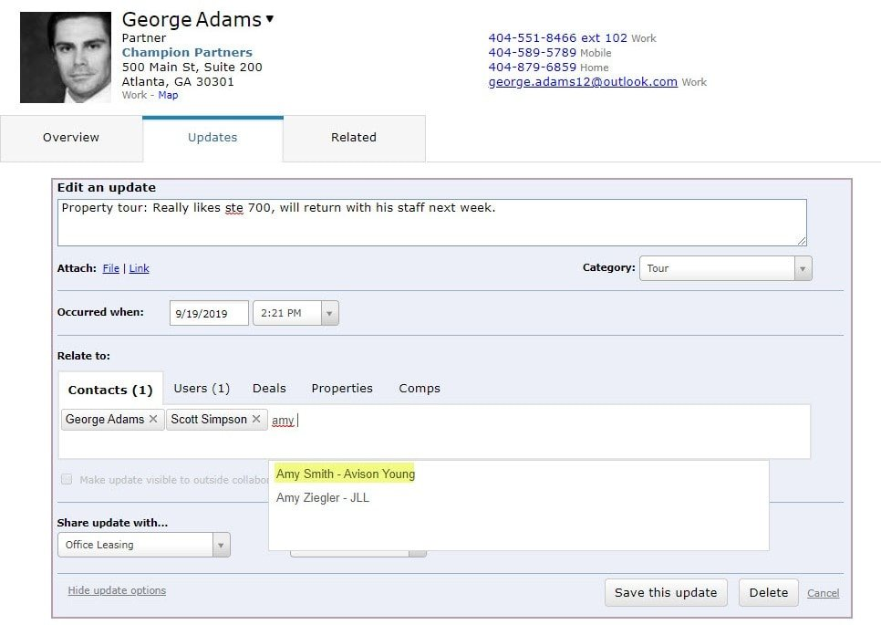 Relate A CRM Update To Multiple Records_1