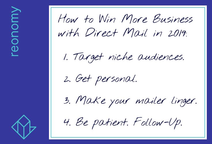 Reonomy Real Estate Direct Mail Tips