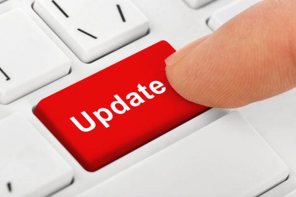 How often to post updates