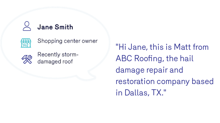 Reonomy Roofer Phone Sales Pitch