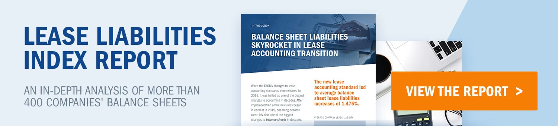 Lease Liabilities Index Report