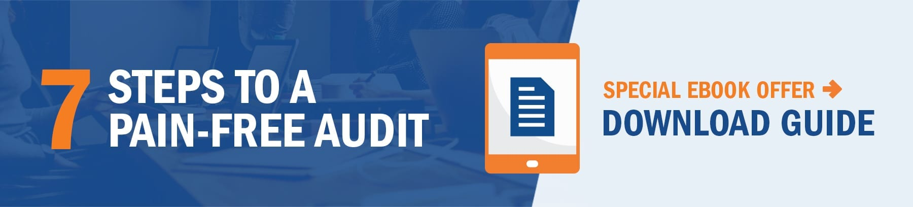 Prepare For Your First Post Transition Audit