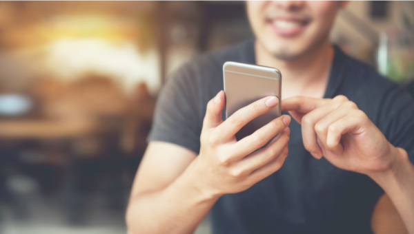 Omni-channel marketing smartphone