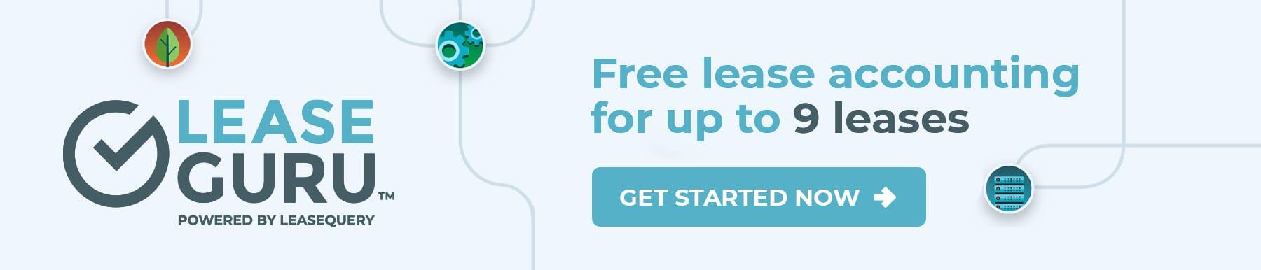 LeaseGuru Free Lease Accounting Software